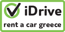 iDrive rent a car Greece is an English spoken company. Hire a reliable car in Athens, Karpathos, Kos, Naxos, Rhodes Samos, Santorini Kythira, or Nafplio. Incl. a proper insurance and an attractive price. Also direct at the airport.